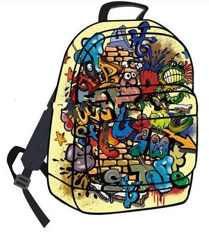 Стильные и креативные рюкзаки с яркими принтами