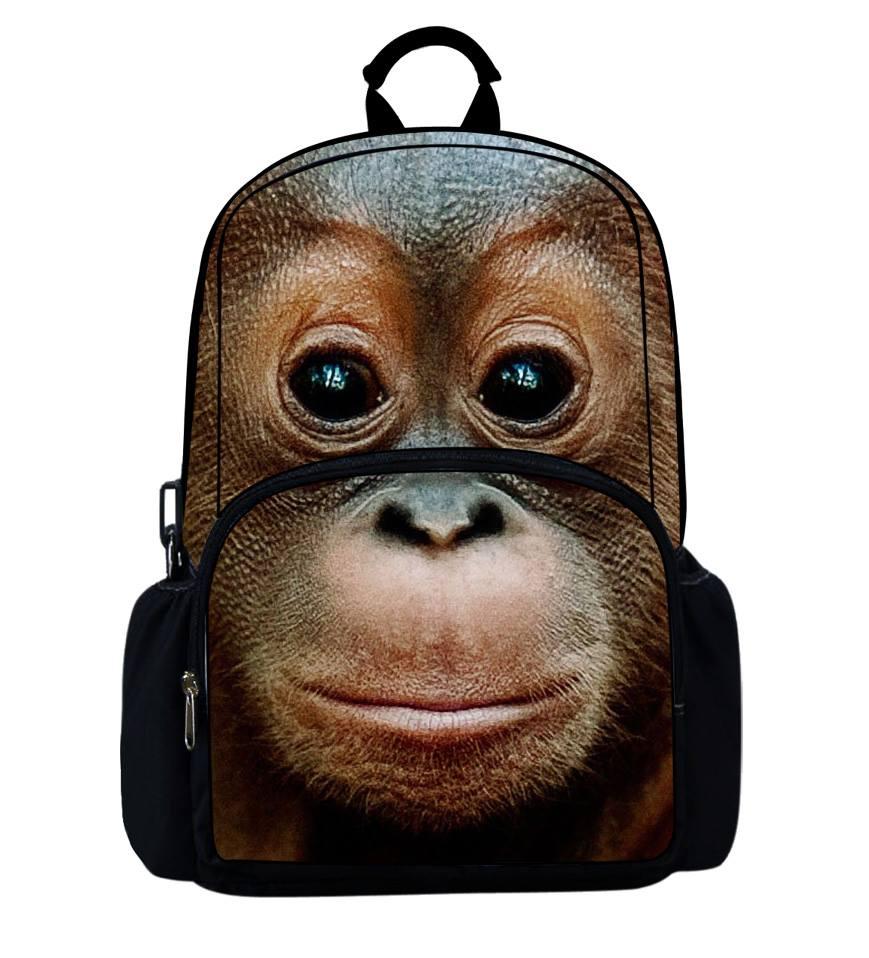 Молодежные городские рюкзаки - серия животные