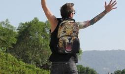 Рюкзак леопард
